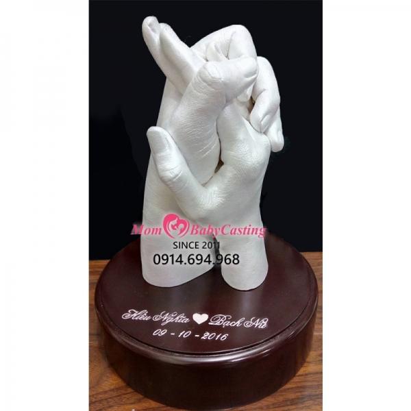 Đúc khuôn tay tình nhân - L18